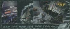 NZ SG2562-4 America's Cup (2nd issue) The Defence set of 3